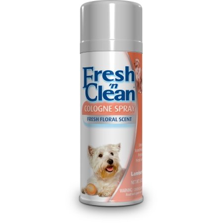 Lambert Kay Fresh 'n Clean 21570 Dog Cologne Spray, 6 oz, Fresh Floral, White to (Fresh Pet Cologne)