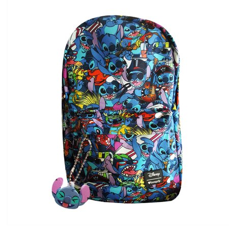 Disney Lilo and Stitch Costume School Backpack by Loungefly BONUS Disney Mystery - Lilo Costume