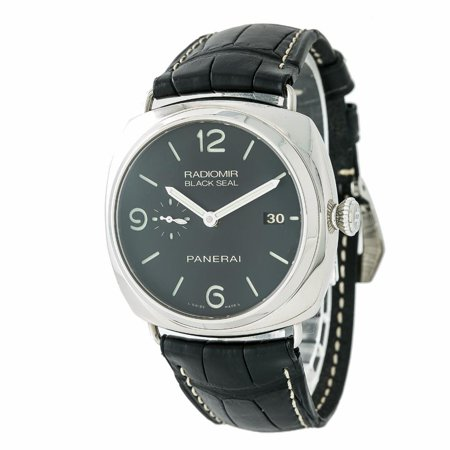 Pre-Owned Panerai Radiomir PAM00388 Steel  Watch (Certified Authentic & Warranty)