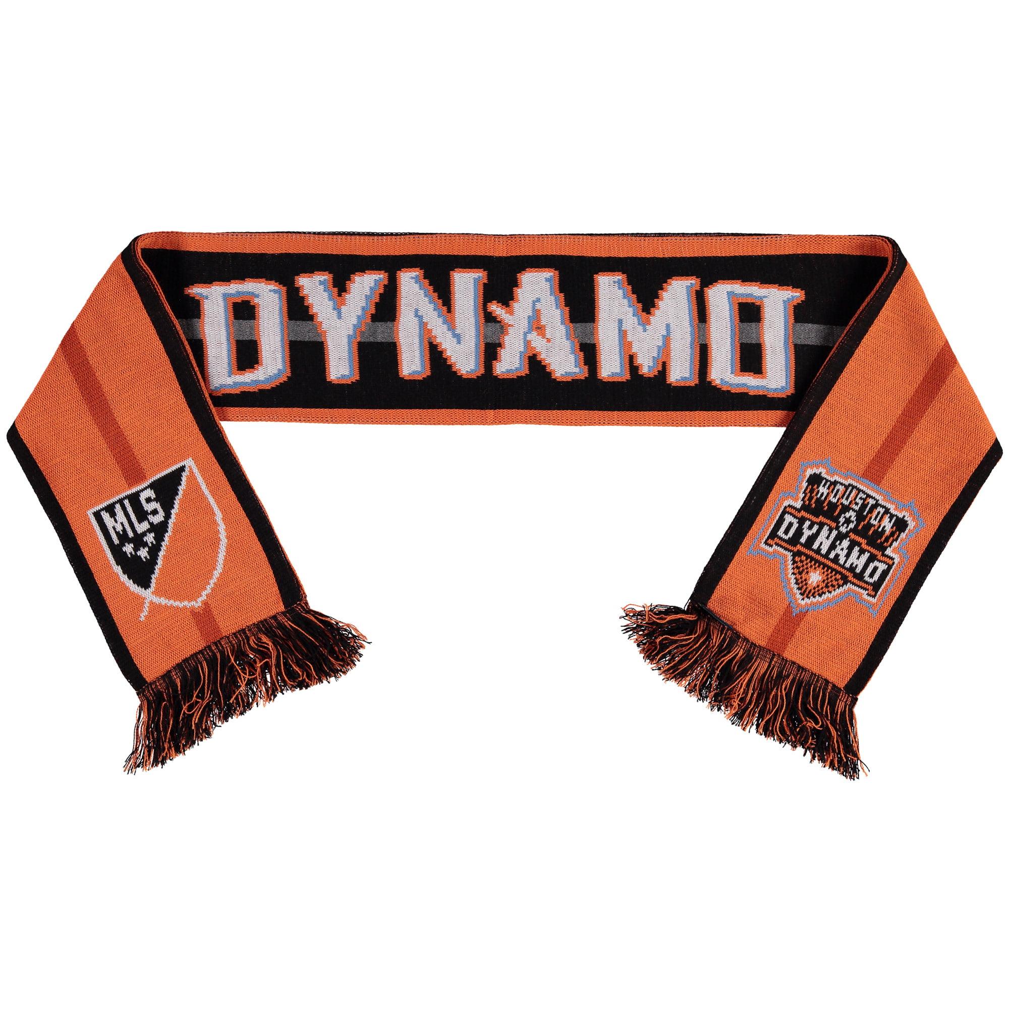 Houston Dynamo Team Pride Scarf - Orange/Black - No Size