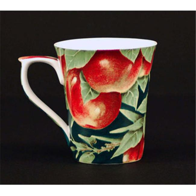 Euland China FR0-007A Set Of Two 12-Ounce Mugs - Apples