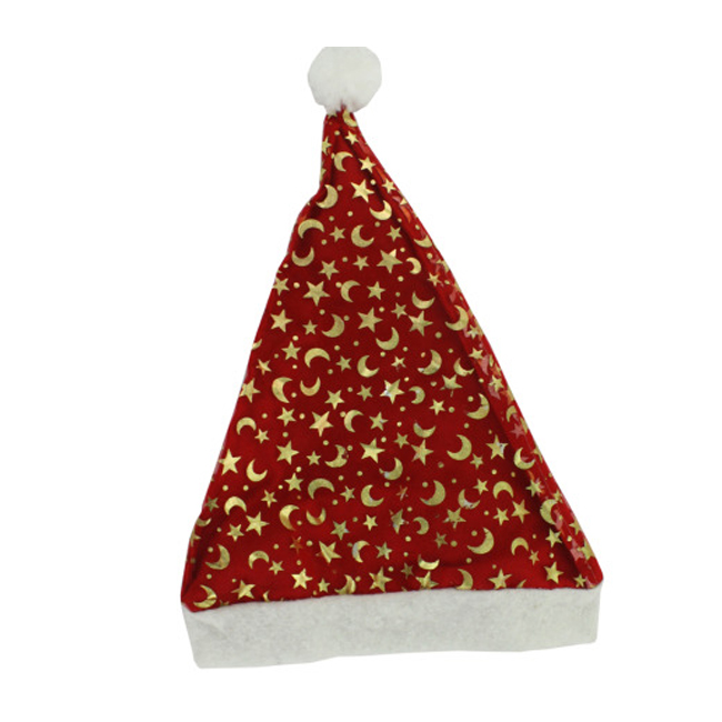 Bulk Buys Santa Christmas Hat, Assorted Designs - Pack of 24