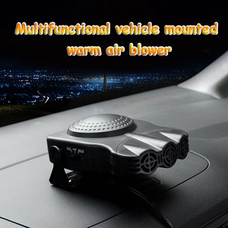 - New Style 12V 150W Portable Car Heating Cooling Fan Heater Defroster Demister US