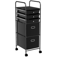 71e8062634 Product Image Mainstays 5-Tier Rolling Cart