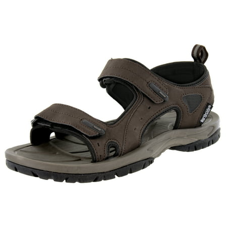 Northside Mens Riverside Sport Strap Sandal (Mens Rugged Casual Sandal)