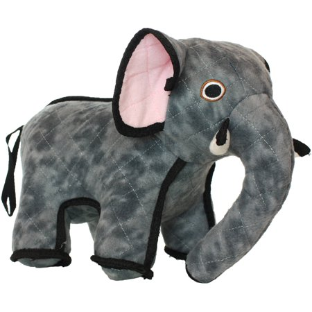 VIP Products Tuffy Zoo Elephant Dog Toy, Multicolor