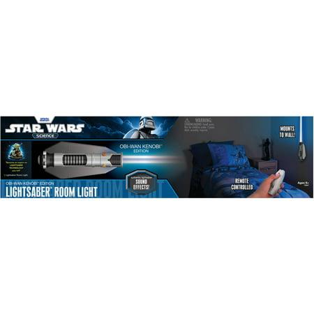 Uncle Milton Star Wars Science Obi Wan Kenobi Lightsaber Room Light