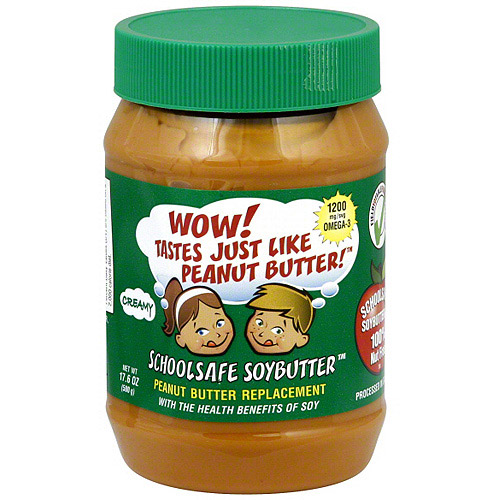 Wowbutter Creamy Soy Spread, 17.6 oz (Pack of 6)