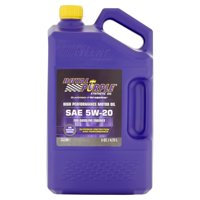 Royal Purple Synthetic SAE 5W-20 High Performance Motor Oil, 5 Quarts