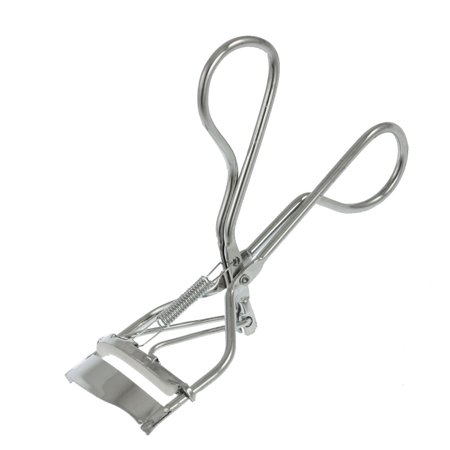 Unique Bargains Unique Bargains Lady Rubber Pad Metal Silver Tone Eyelash Curler Cosmetic Tool
