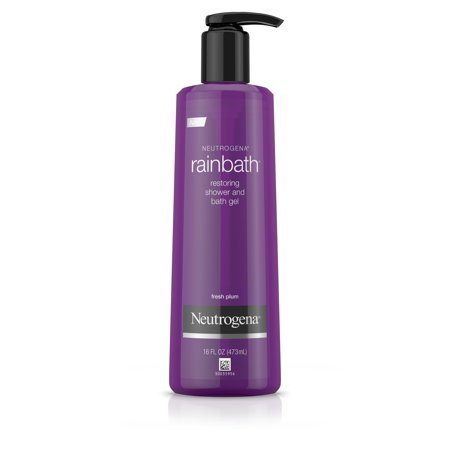 Neutrogena Rainbath Shower and Bath Gel, Fresh Plum and Floral Scent, 16 fl. oz