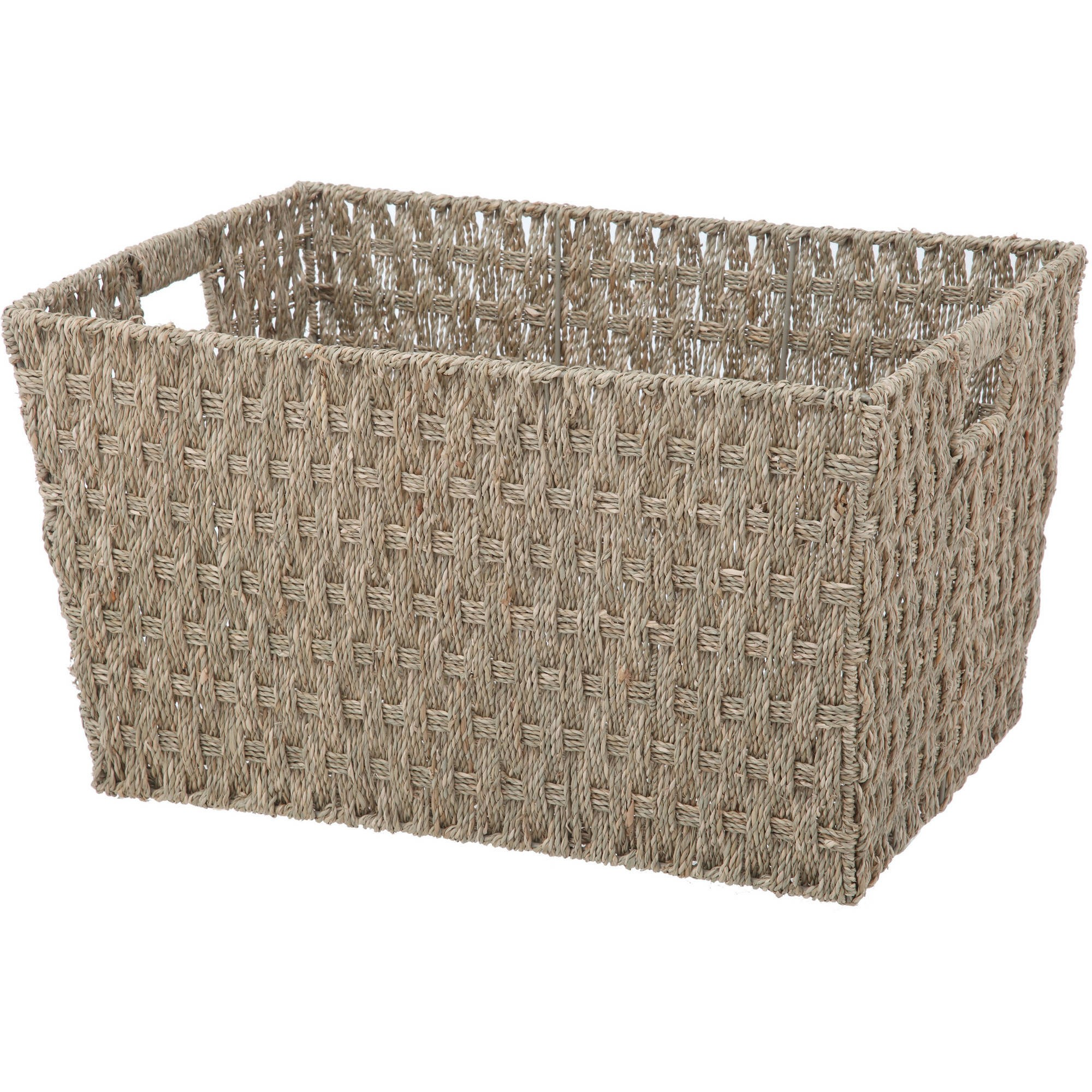 Mainstays Seagrass Large Basket
