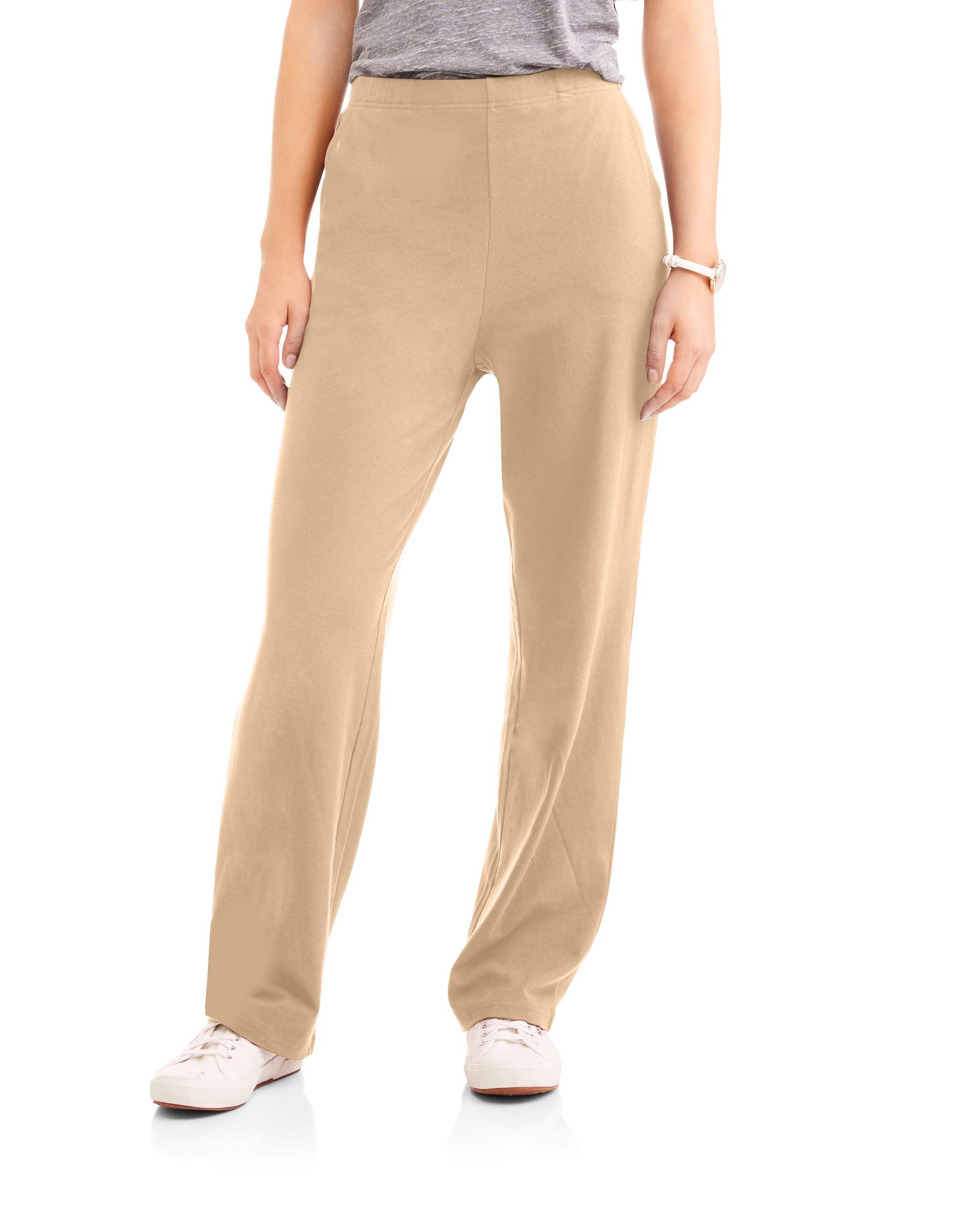 Women's Knit Pull-On Pant Available in Regular and Petite