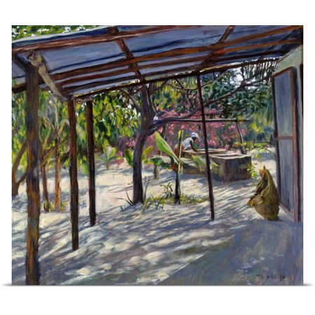 Great Big Canvas Tilly Willis Poster Print Entitled Morning Shadows  2004