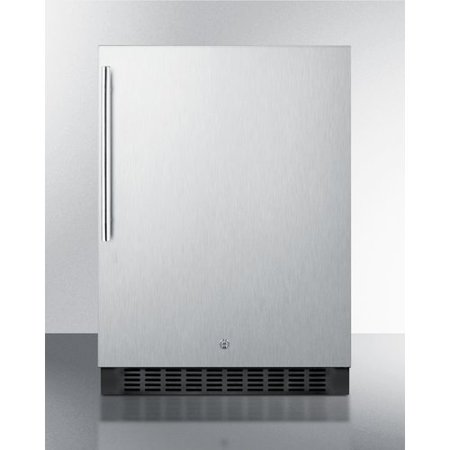 Image of Summit SPR627OSSSHV 24in Wide 4.6 Cu. Ft. Energy Star Rated Compact Outdoor Refrigerator