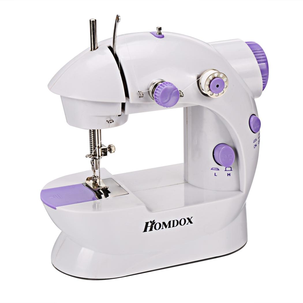 Mini Fashion Portable Sew 2-Speed Sewing Machine With 4 Bobbins ROJE