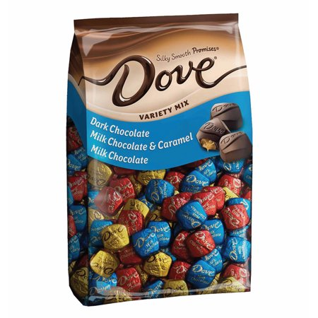 Dove Promises Variety Mix Chocolate Christmas Candy 43 07 Ounce 153 Piece Bag