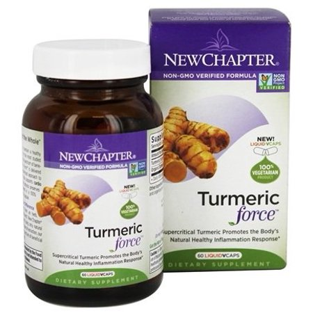 Force 60 Capsules - New Chapter Turmeric Force Capsules, 400mg, 60 Ct