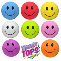 Tenna Tops 8 pcs Assorted Colors Smiley Car Antenna Toppers / Antenna Balls - Gift Set