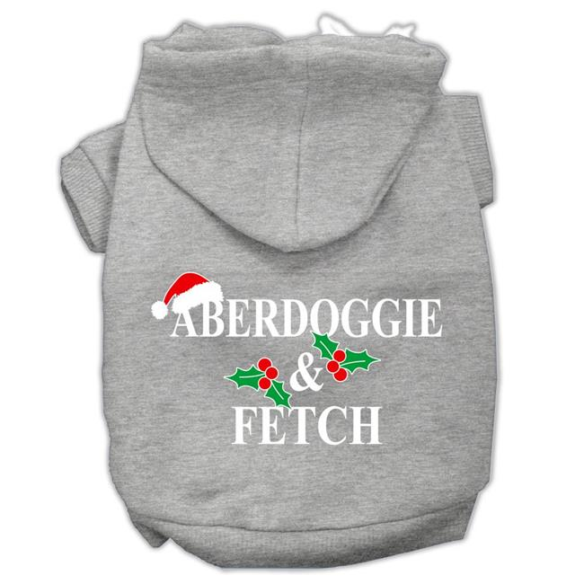 Aberdoggie Christmas Screen Print Pet Hoodies Grey Size Xxxl(20) - image 1 de 1