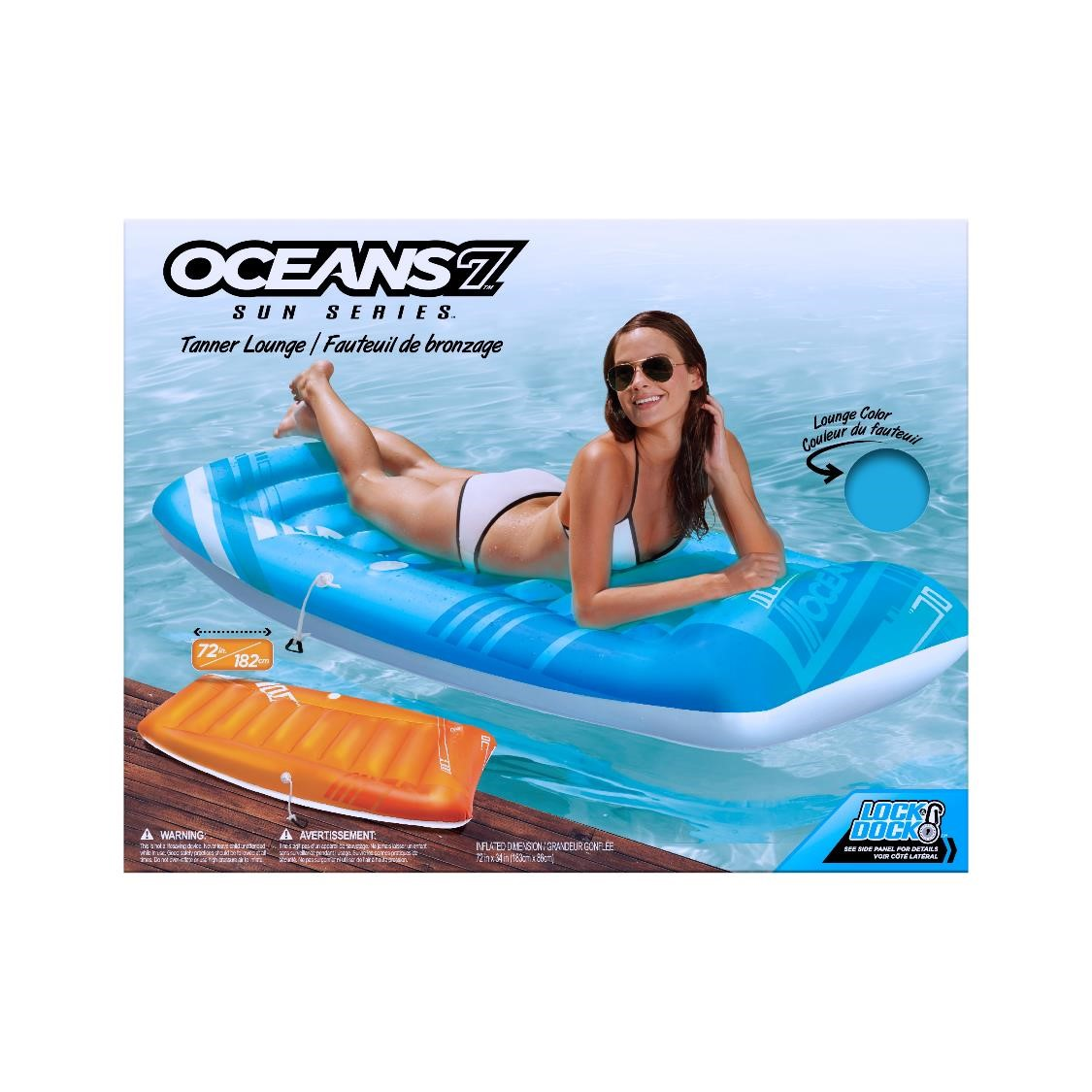 Oceans 7 Dual Lounger and Cooler