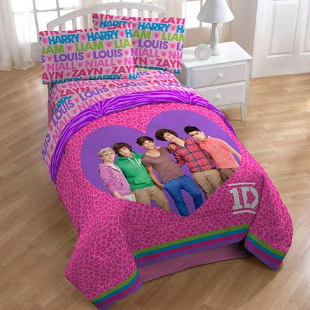 license one direction twin full comforter. Black Bedroom Furniture Sets. Home Design Ideas