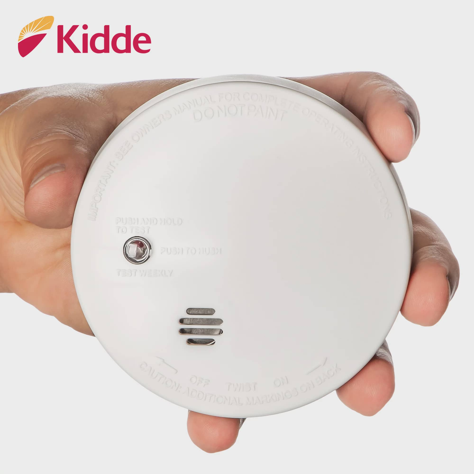 Kidde Fire Sentry Micro Profile 3 Year Smoke Alarm 9 Volt Battery