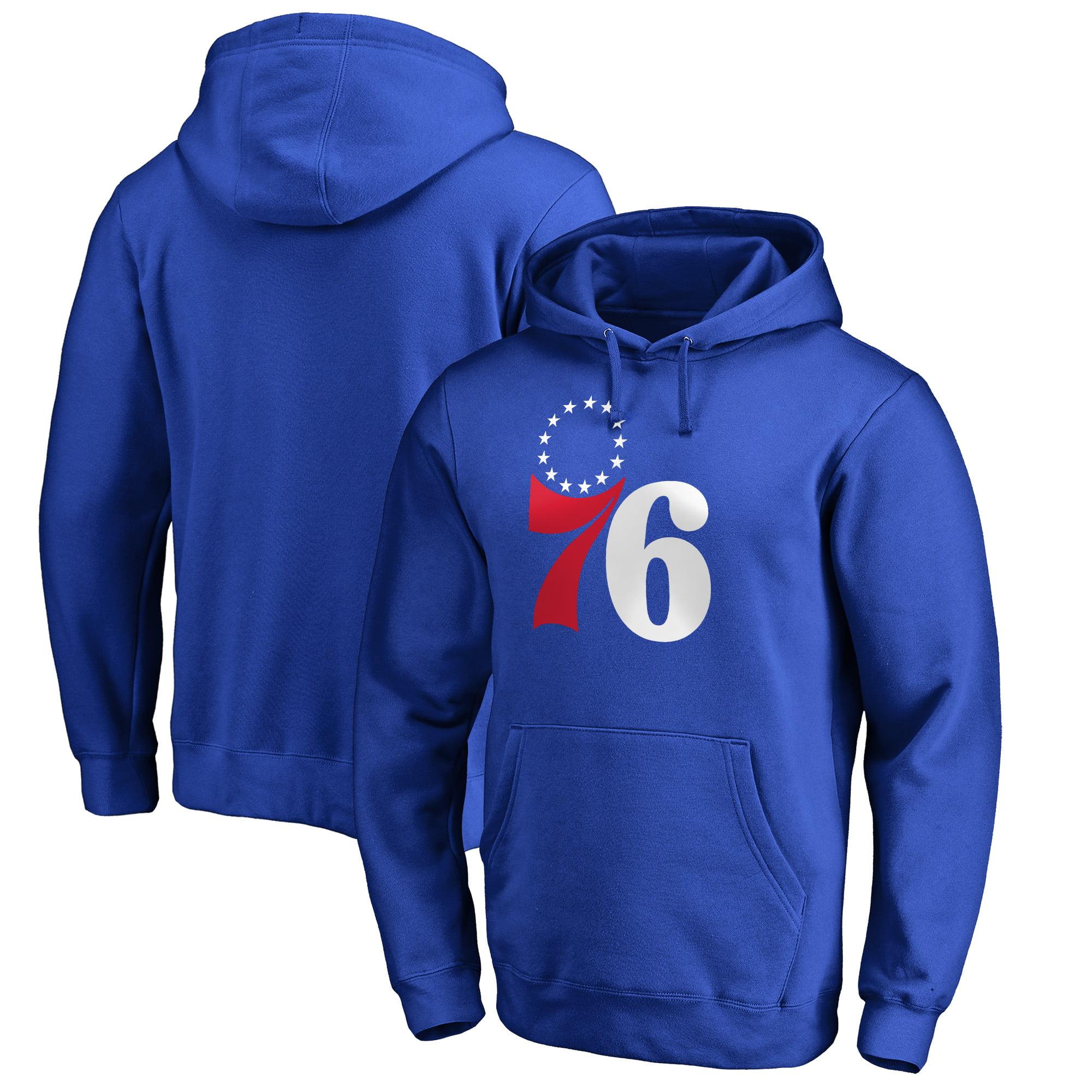 Philadelphia 76ers Fanatics Branded Secondary II Pullover Hoodie - Royal