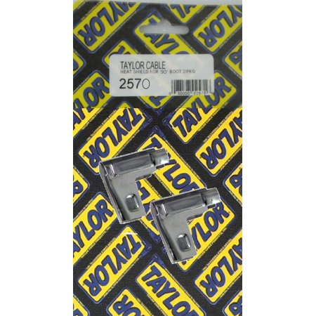 Taylor Cable 2570 Polished Spark Plug Boot Heat Shield Protector - image 1 de 2