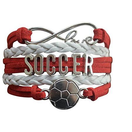 Soccer Bracelet- Girls Soccer Bracelet- Soccer Jewelry - Perfect Gift For Soccer Players - Soccer Bracelet