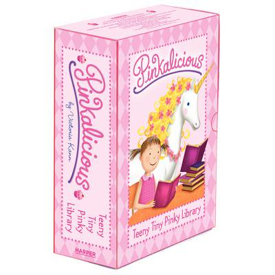Pinkalicious: Teeny Tiny Pinky Library : 4 Mini Books