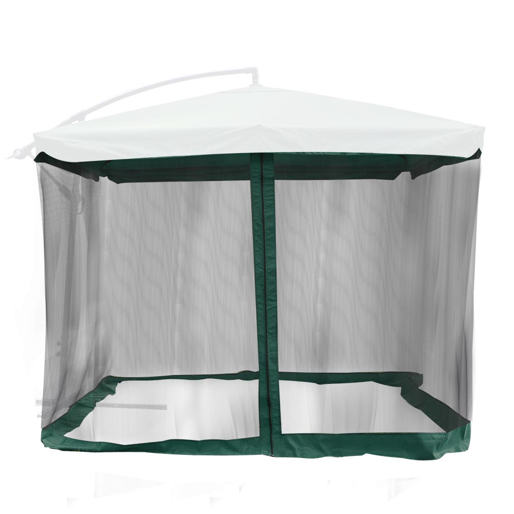 Captivating Yescom 9ft Umbrella Mosquito Net Outdoor Patio Mesh Screen Anti Insect Fly  Tent Netting   Walmart.com