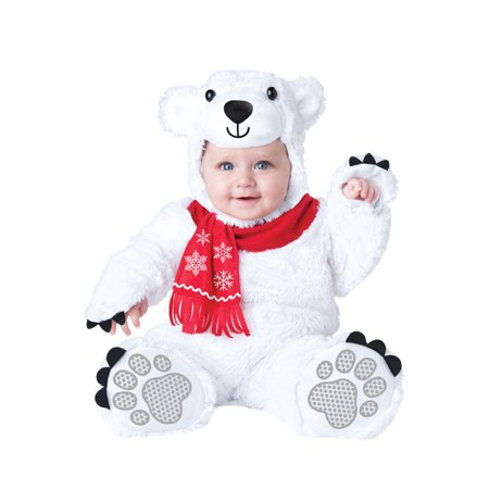 Lil' Polar Bear Infant Costume (Kids Polar Bear Costume)