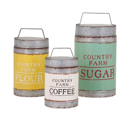 Dairy Barn Decorative Lidded Containers - Set of 3