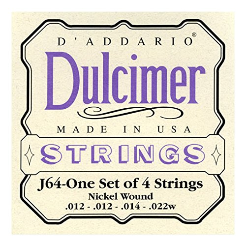 J64 4-String Dulcimer Strings, Designed specifically for the 4-string dulcimer By... by