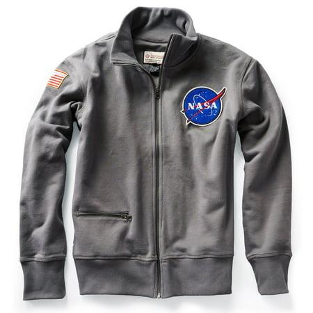 NASA Rocket Scientist Full Zip Small Gray