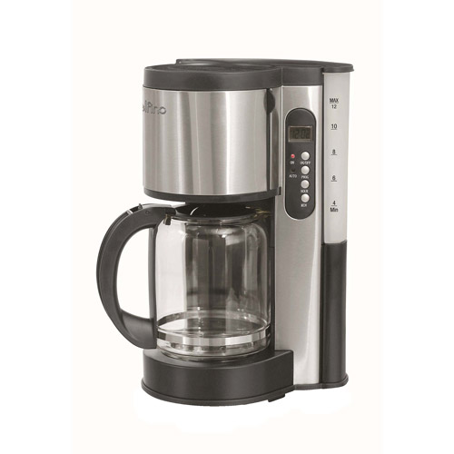 Delfino DLFC381 Coffee Maker, Stainless Steel