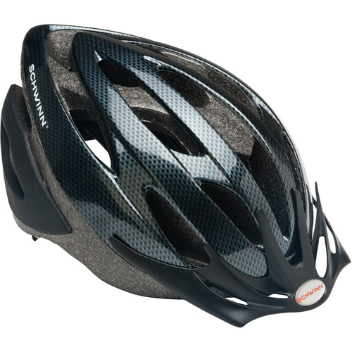 Schwinn Thrasher Carbon Fiber-Look Helmet, Adult