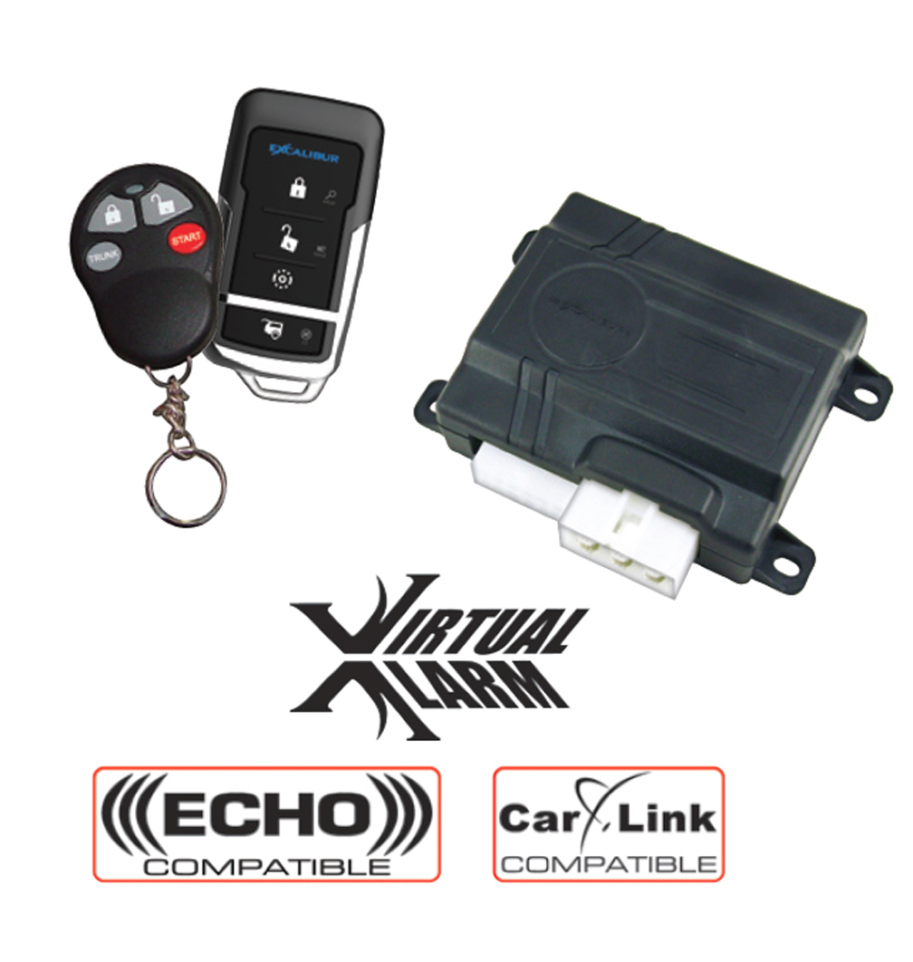 Excalibur Electronics Rs-360-edp Remote Keyless System - 1-way - 2 X Transmitters - 1500 Ft - Shock Sensor (rs360edp)