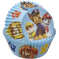 (3 Pack) Wilton Paw Patrol Standard Baking Cups, 50 count