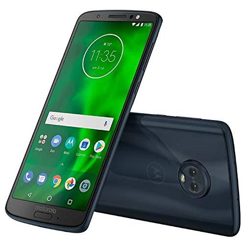 "Motorola Moto G6 Plus XT1926-7 64GB 5.9"" Dual SIM 4G LTE Factory Unlocked Smartphone International Model - No Warranty (Deep Indigo)"