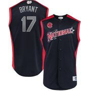 Kris Bryant National League Majestic 2019 MLB All-Star Game Workout Player Jersey - Navy