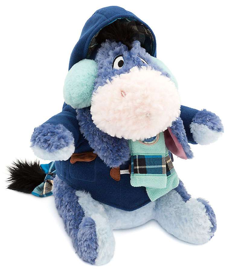 Disney Winnie the Pooh Eeyore Holiday Plush by
