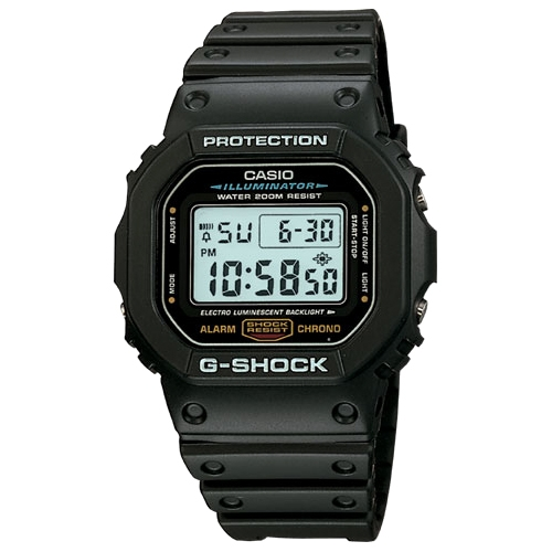 Casio G-Shock Illuminating Watch With Electro-Luminescent Backlight