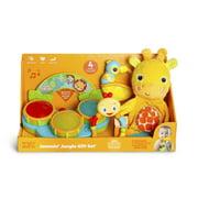 Bright Starts Jammin Jungle Gift Set, Ages Newborn +