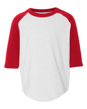 Augusta Sportswear - Toddler Three-Quarter Sleeve Baseball Jersey - 422