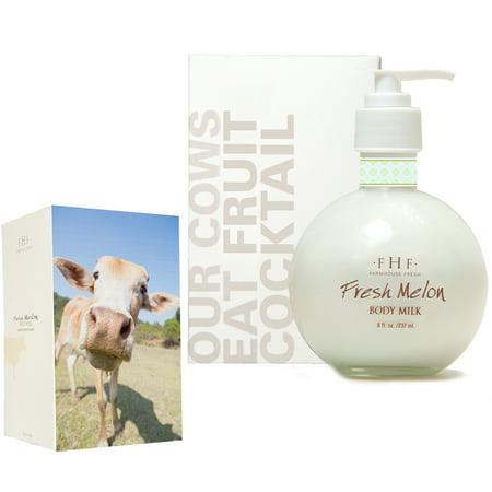 FarmHouse Fresh Fresh Melon Body Milk - Pump Top (8 (Body Farm)
