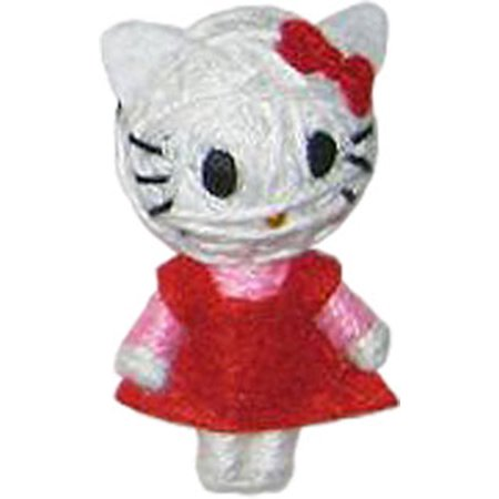 Cell Phone Charm - Hello Kitty - Red Dress New Toys String Doll