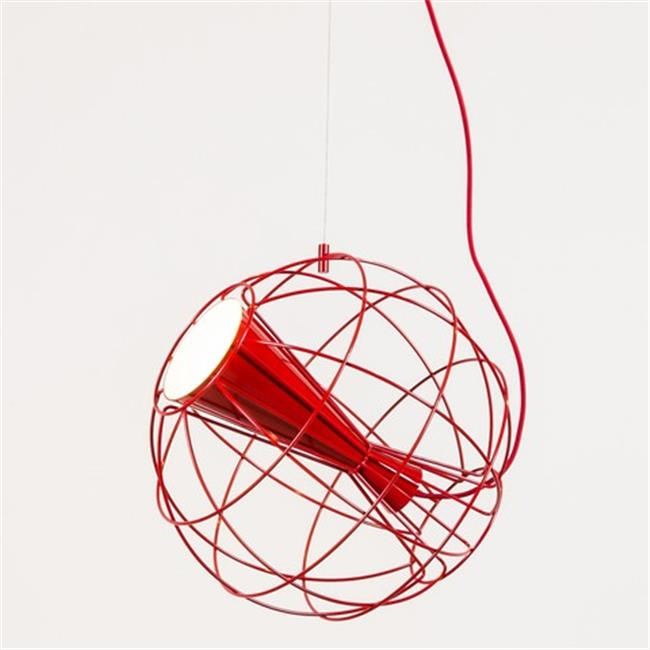 Innermost PL08933008 Latitude Suspension Pendant Lamp, Red