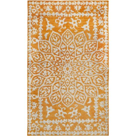 "Safavieh Stone Wash 2'6"" X 8' Hand Knotted Rug in Copper - image 1 de 1"